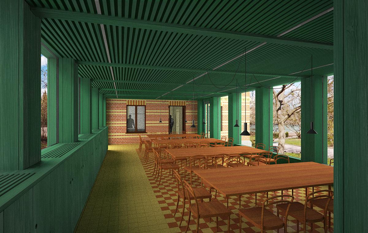 Trädgårdsvillan matsalen 1200